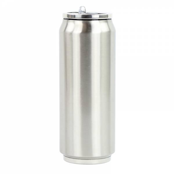 Trinkflasche CAN Edelstahl 500 ml