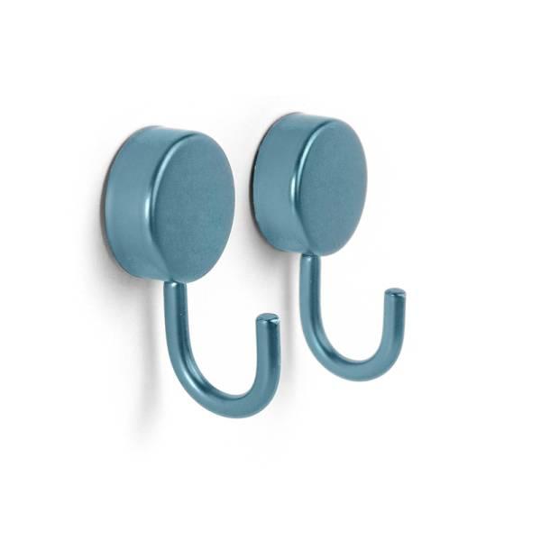 Magnethaken PORTA 2er Set blau