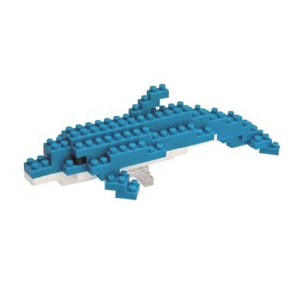 Mini NANOBLOCK Bottlenose Dolphin