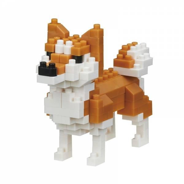 Mini NANOBLOCK Dog breed Shiba-Inu