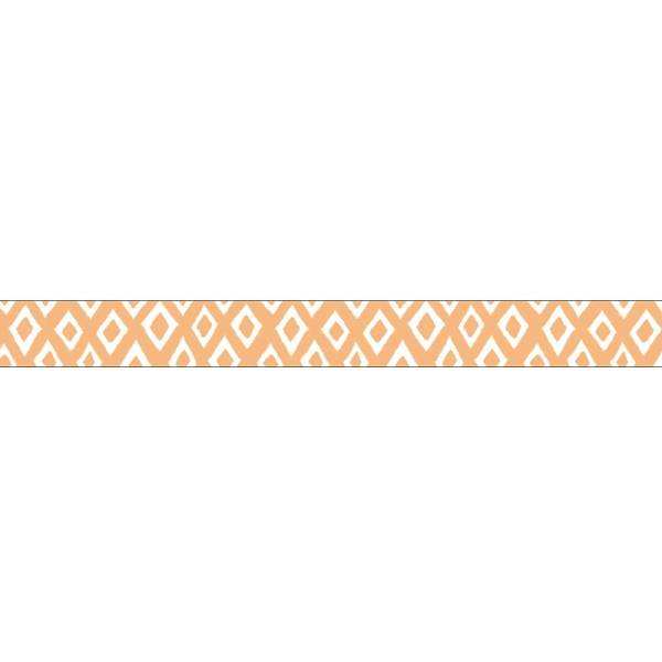 Masking tape MASTÉ BASIC Light orange -Diamond polka